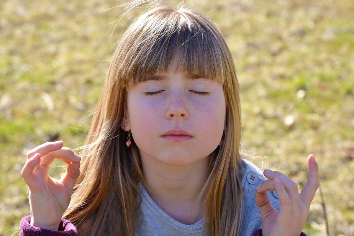 enfant zen fille